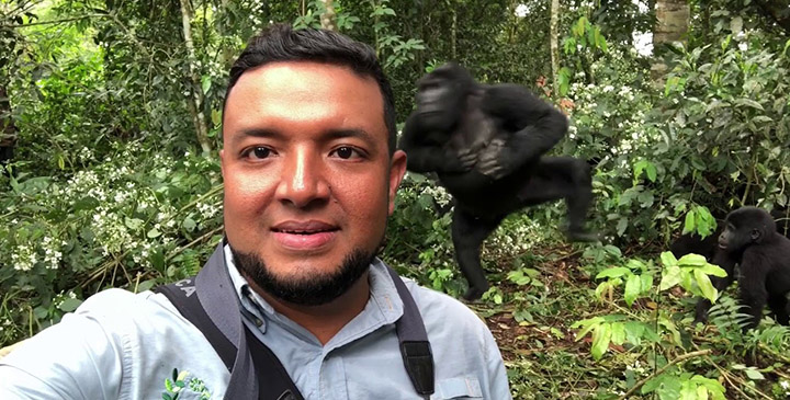 Gorilla-Trekking-Video