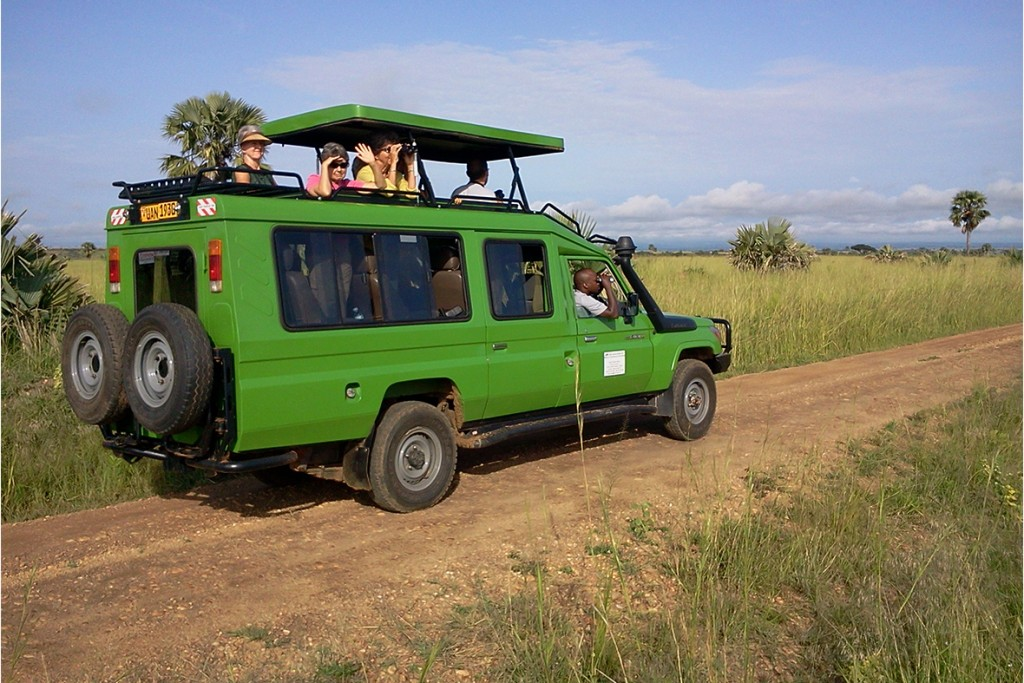 4x4 Vehicle used on the 18 Days Uganda Birding Tour