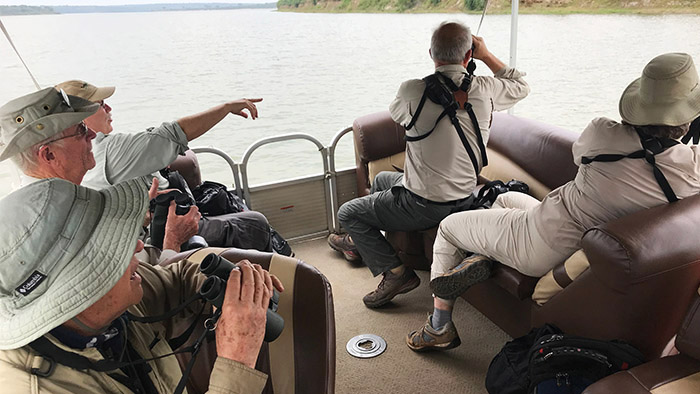 Boat Cruise at Queen Elizabeth National Park Uganda